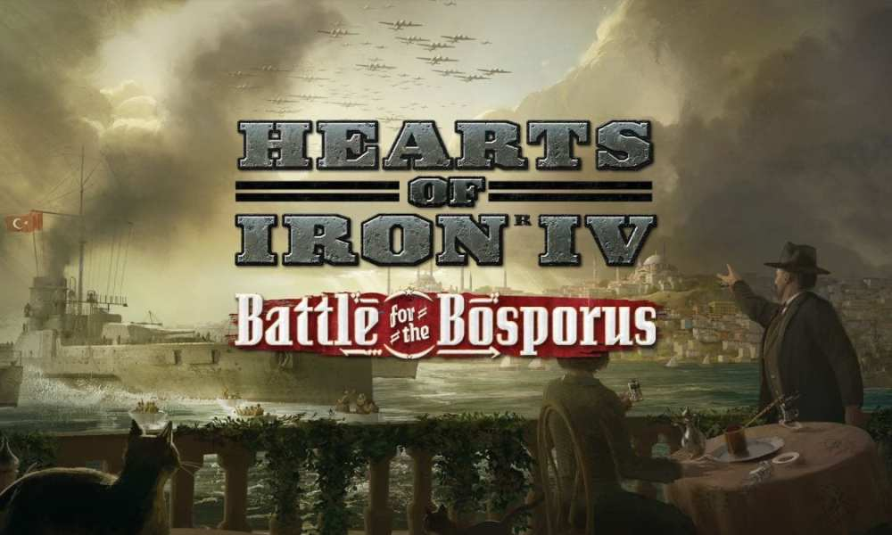 Hearts of Iron IV: Battle for the Bosporus Announced; Will Focus On Greece, Turkey, and Bulgaria