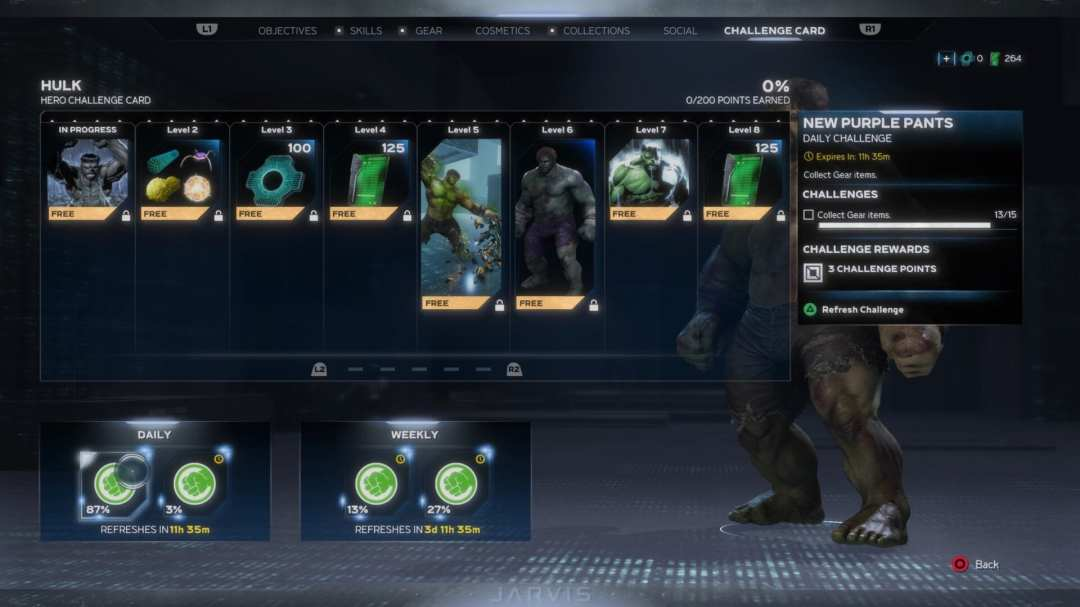 Marvel's Avengers: How to Get Hero Challenge Cards & What They Do