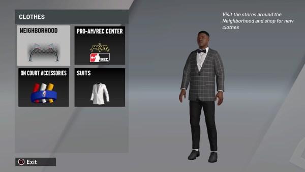 NBA 2K21 equip accessories