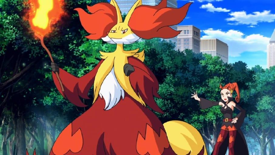delphox, pokemon