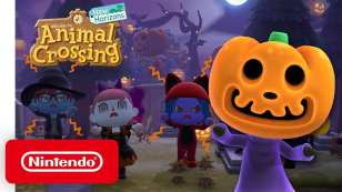 halloween animal crossing