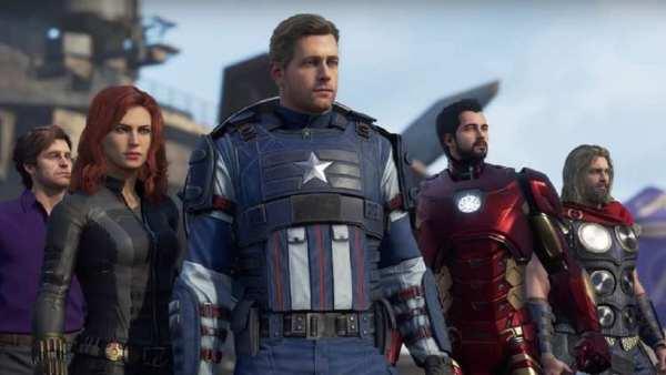 voice actors marvel's avengers
