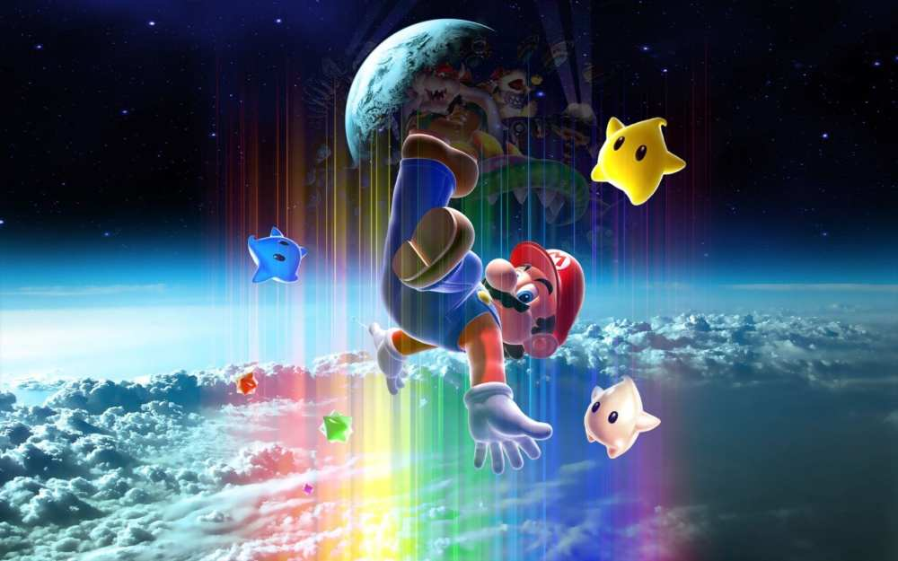 super mario 3d all-stars wallpapers, super mario galaxy