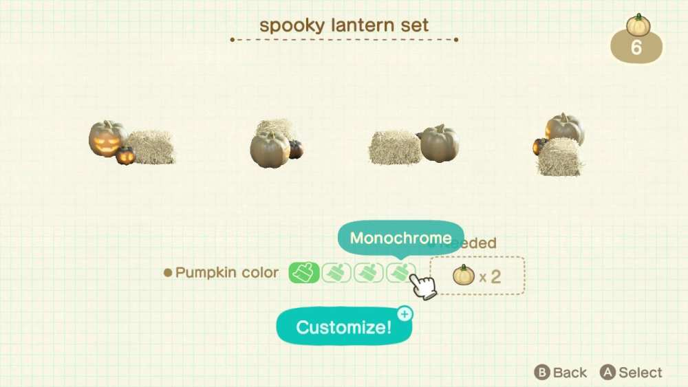 animal crossing new horizons, spooky furniture