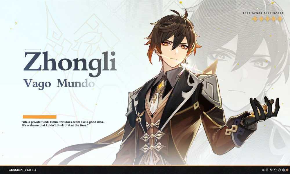 New Genshin Impact Is All About the Handsome and Mysterious New Character Zhongli