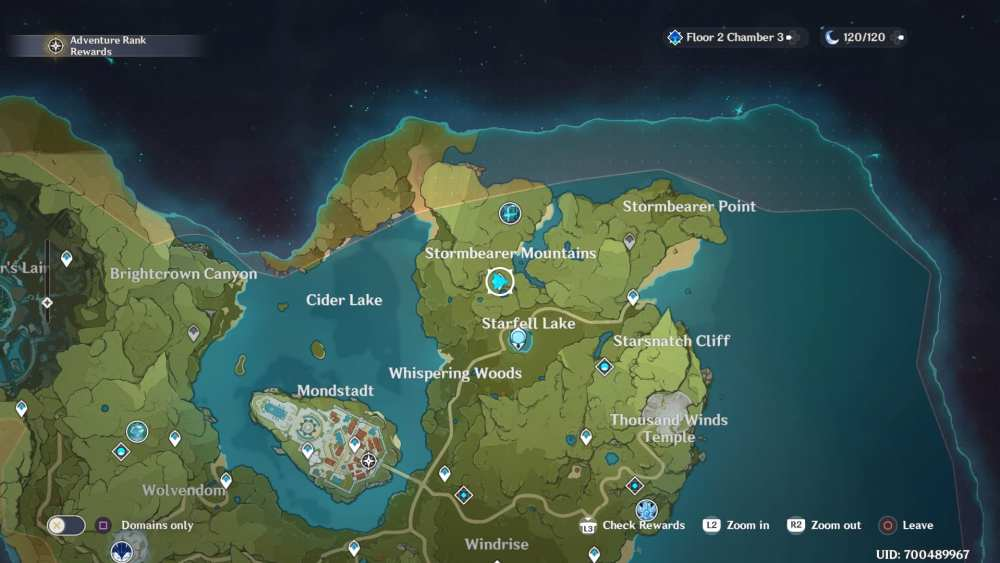 Pinecone Locations in Genshin Impact