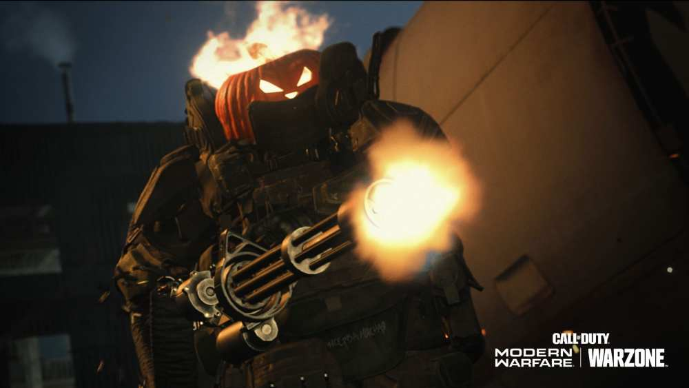 pumpkin head, warzone, modern warfare