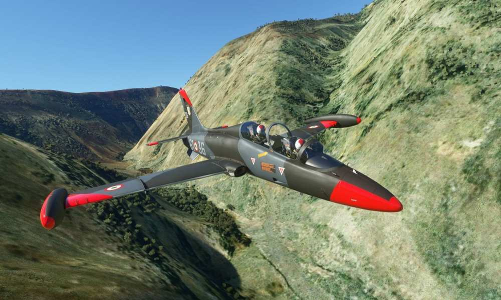 I Flew Through Star Wars Canyon on Microsoft Flight Simulator's First Military Jet