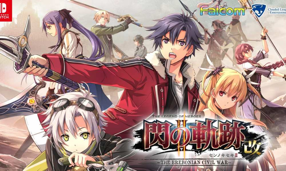 The Legend of Heroes: Trails of Cold Steel I & II Announced for Nintendo Switch in Japan