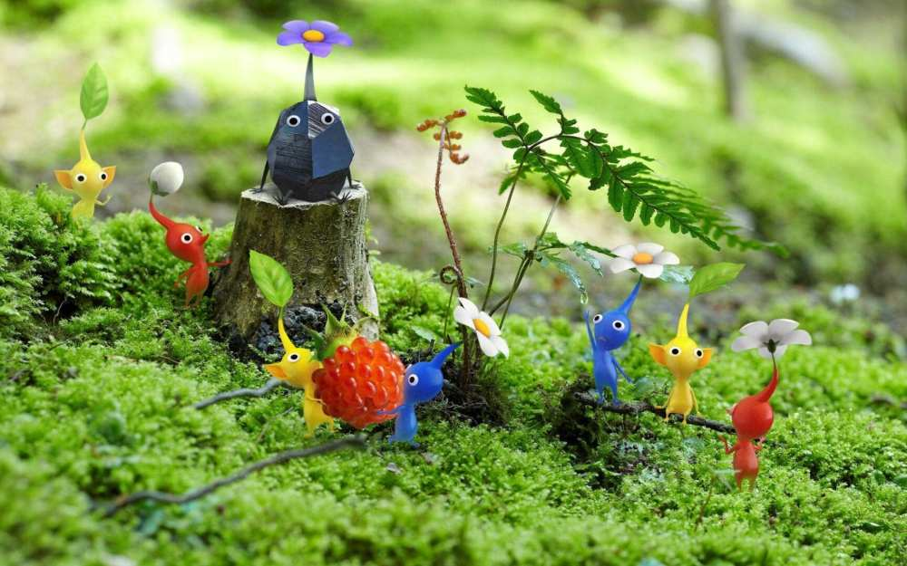 pikmin with fruit