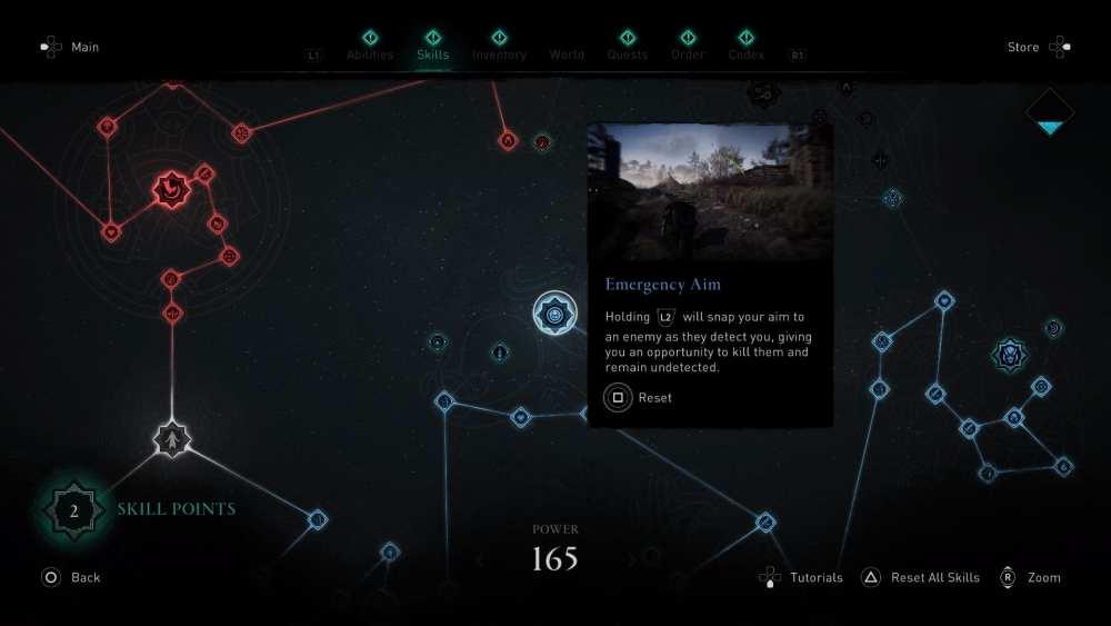 skill tree assassin's creed valhalla