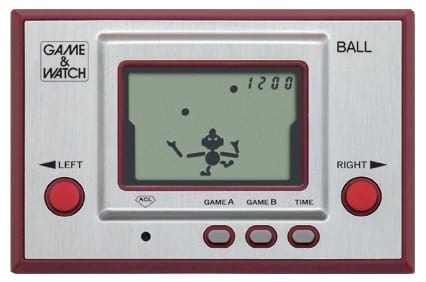 Ball, game & watch