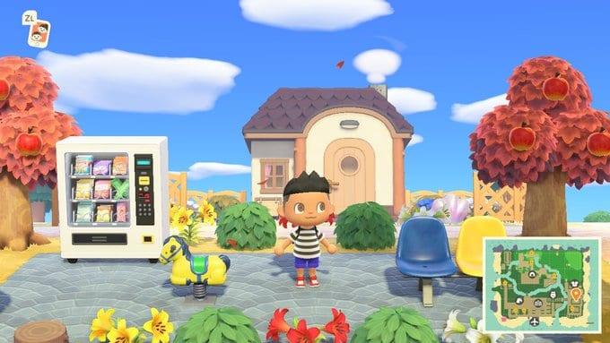 official nintendo island animal crossing new horizons