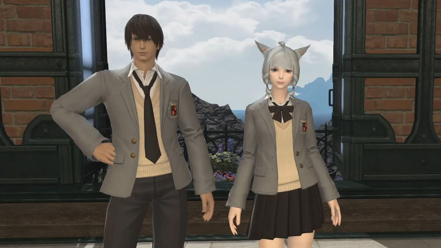 Closing Fantasy XIV Getting College Uniform Costumes, With a Caveat 1