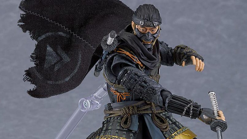 Ghost of Tsushima Getting Good-looking Jin Sakai Figma Determine 1