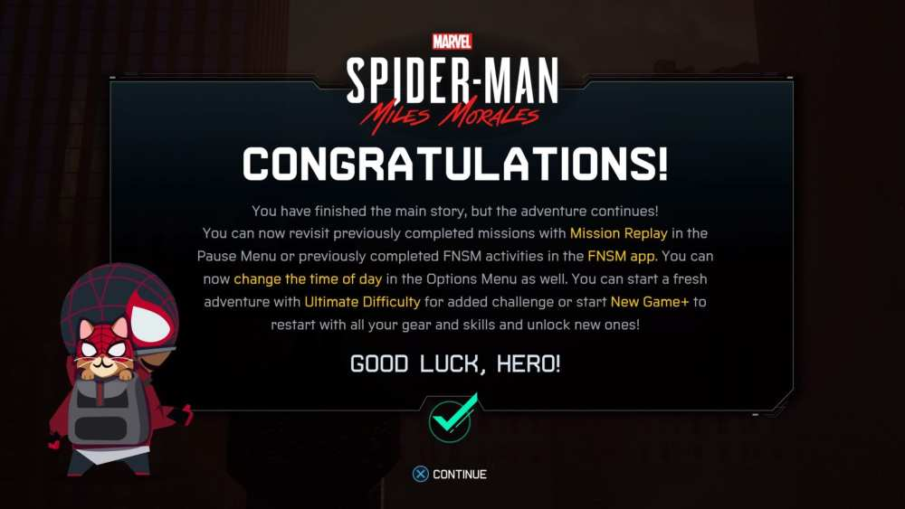 How to Start New Game Plus in Miles Morales
