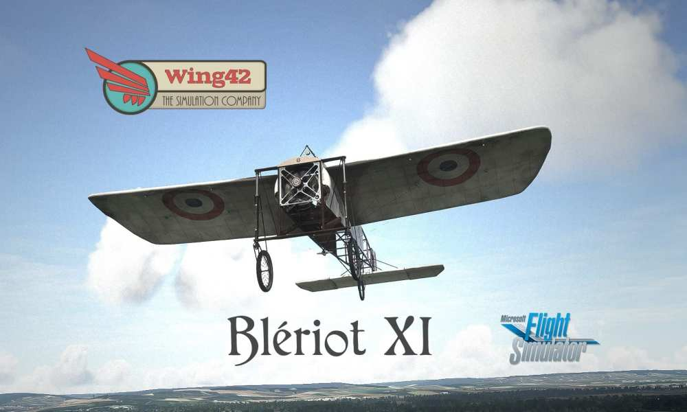 Microsoft Flight Simulator Gets The Famous Blériot XI and The PA44 Seminole