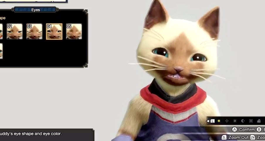 Monster Hunter Rise Exhibits off Character Creator for Your Animal Companions 1