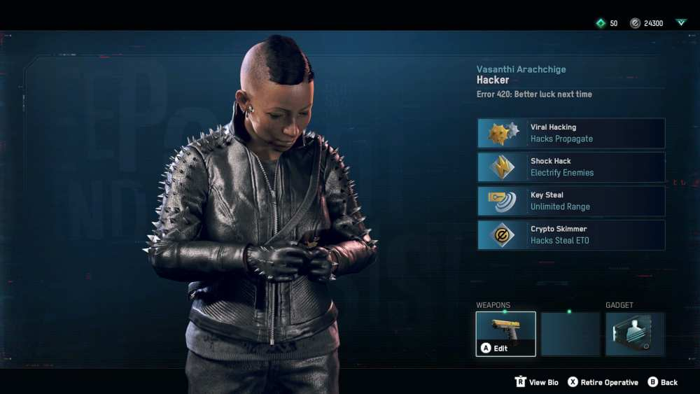 watch dogs legion, remove operatives, potential recruits