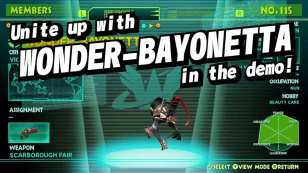 Wonderful 101 Bayonetta