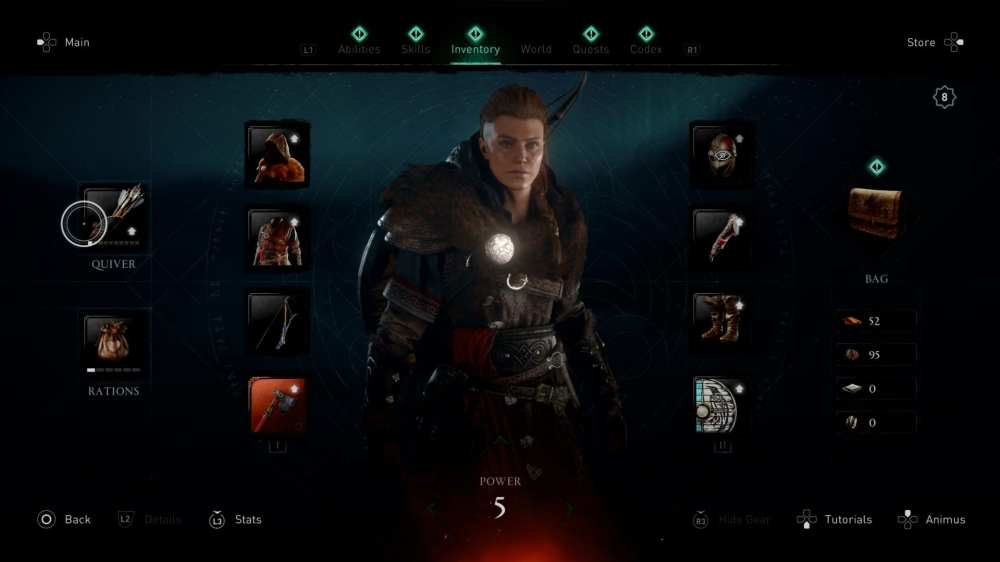 assassin's creed valhalla change clothes