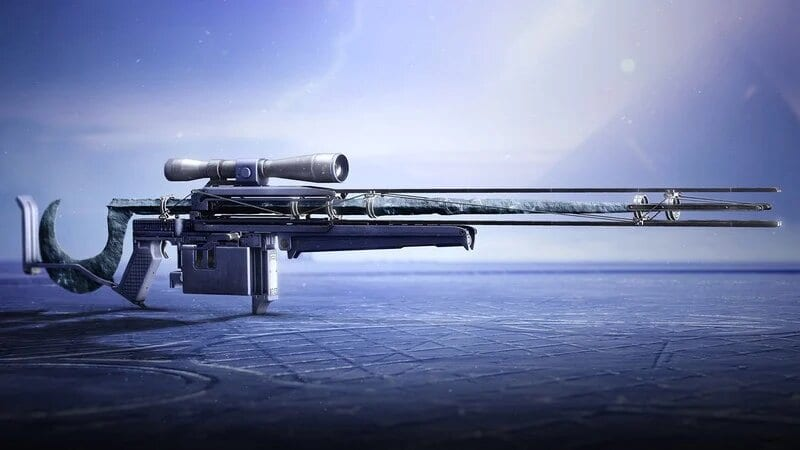 cloudstrike exotic sniper rifle, destiny 2
