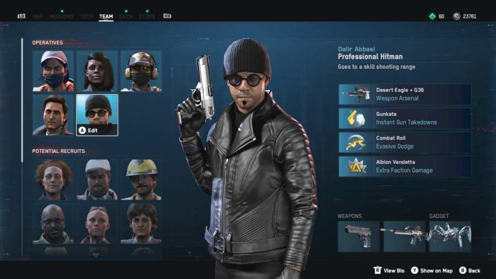 watch dogs legion, best operatives
