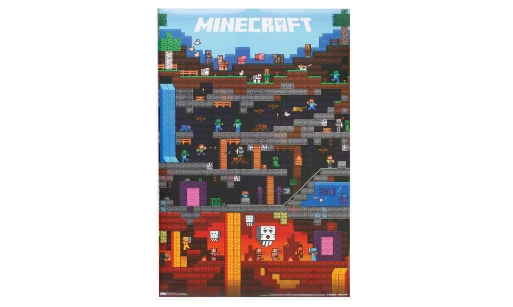 poster, Minecraft Holiday Gift Guide