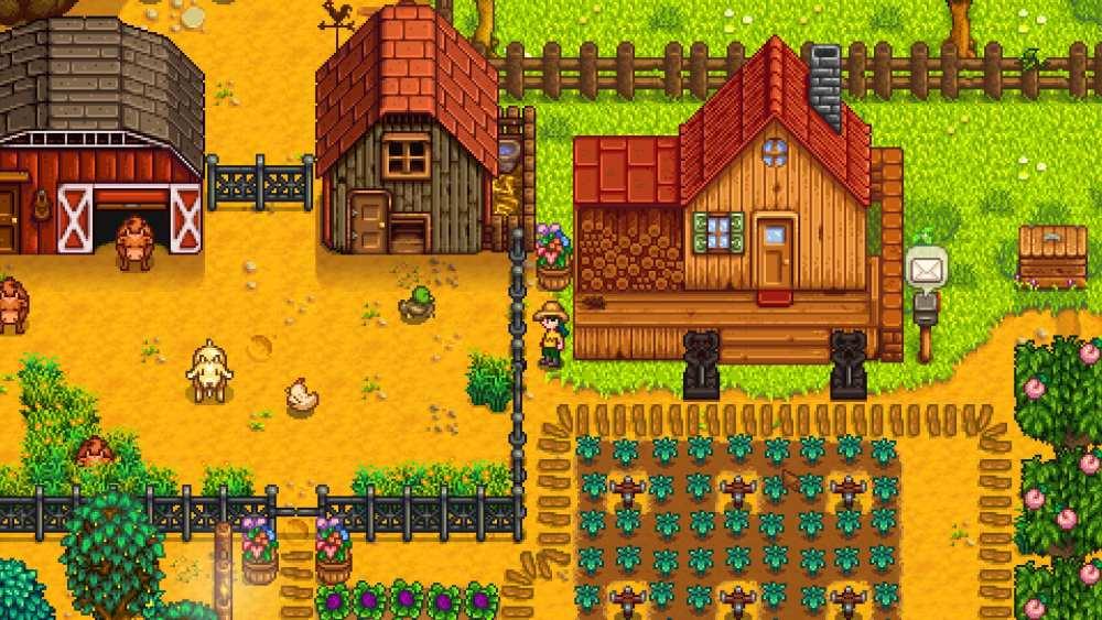 Stardew valley relaxing farm