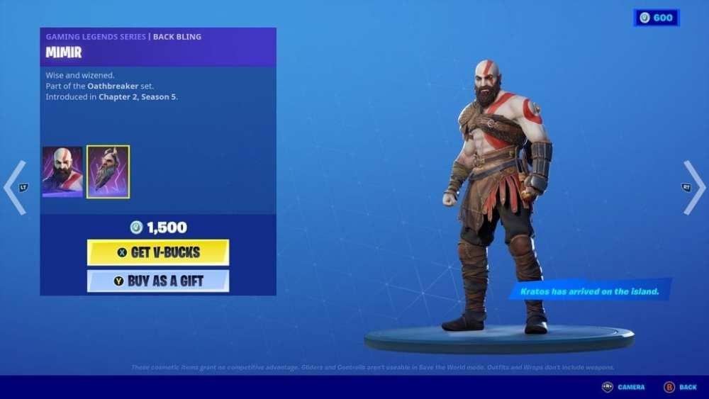 Fortnite kratos, how to get kratos fortnite