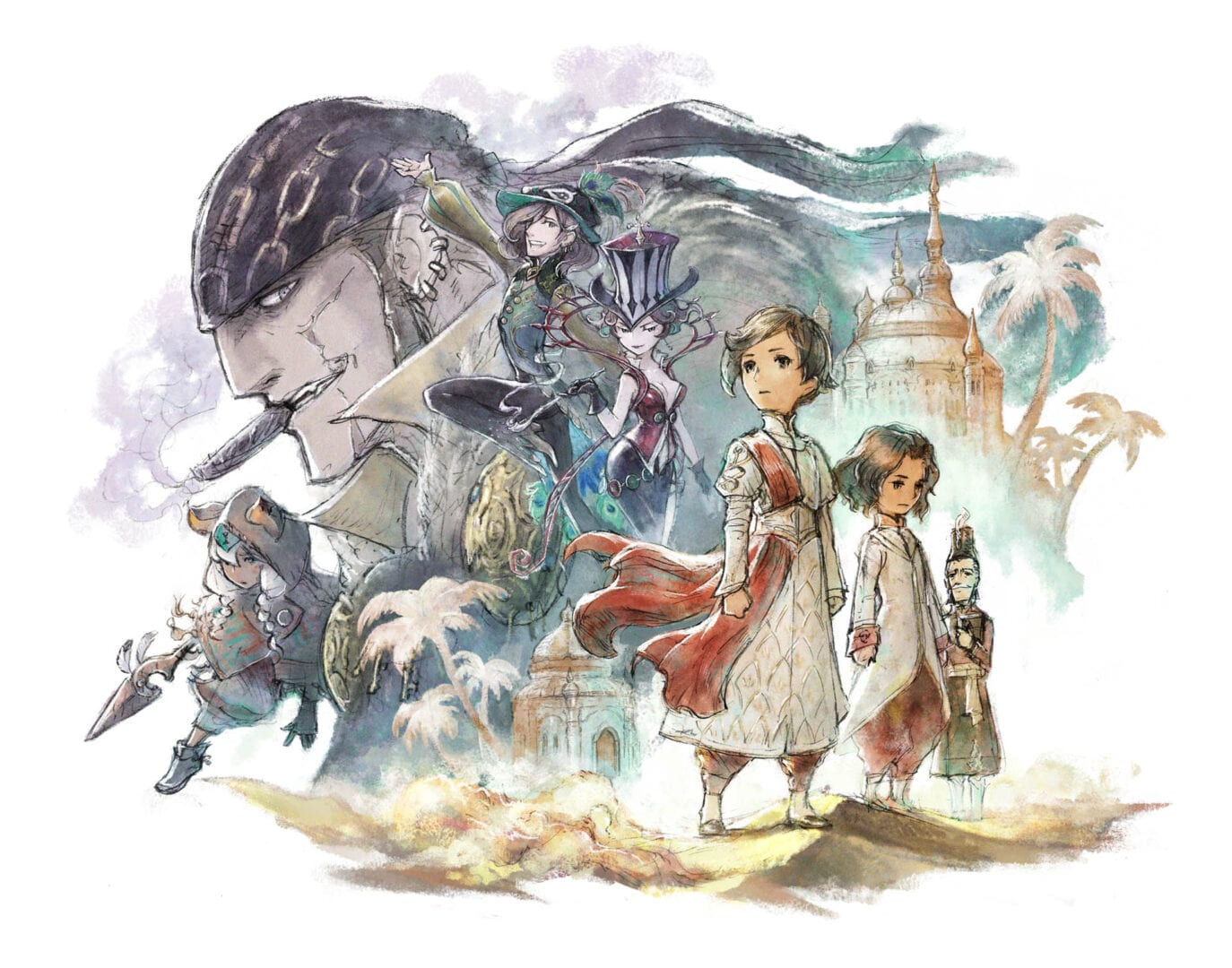 Bravely Default II for Nintendo Change Will get Tons of Screenshots Exhibiting Characters, Jobs, & Extra 1
