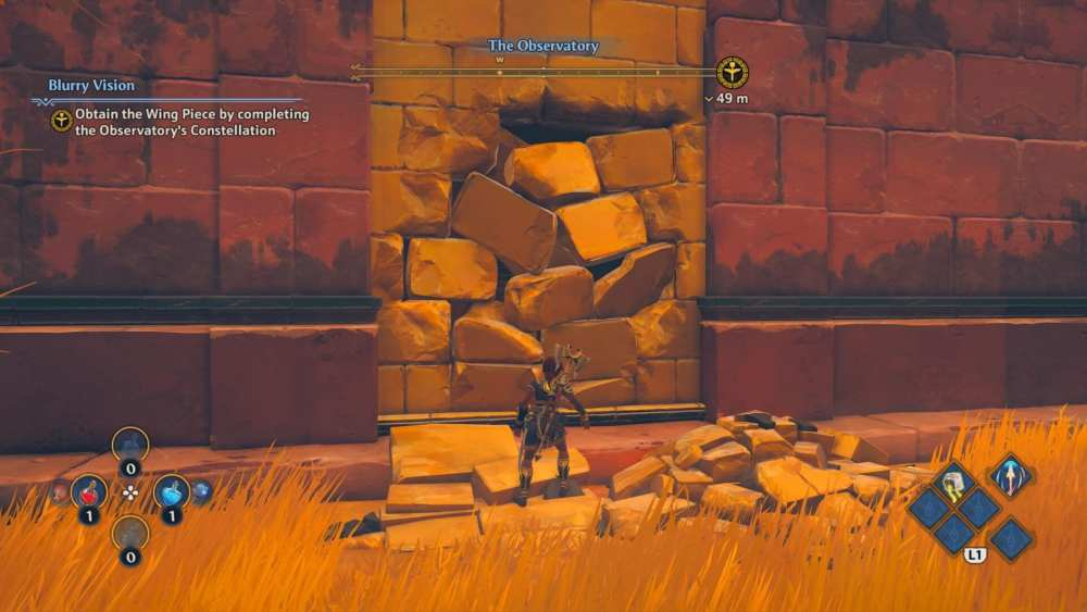 immortals fenyx rising break walls