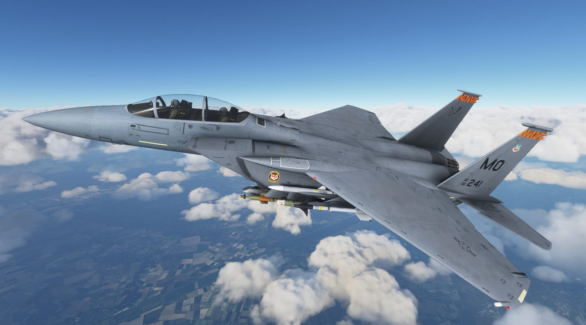 Microsoft Flight Simulator F-15 Add-on Gets New Video All About The Roar of Its Engines