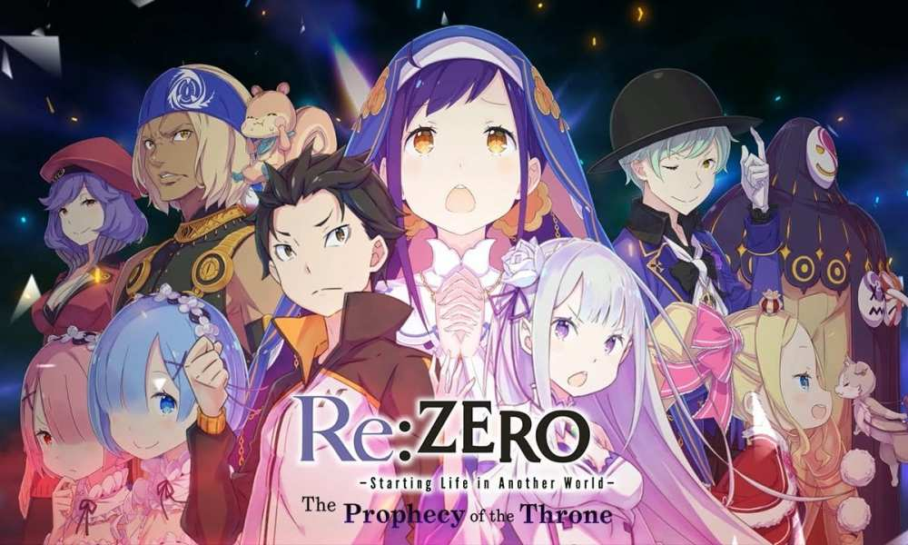 Re:ZERO for PS4, Change, & PC Will get New TV Industrial 1