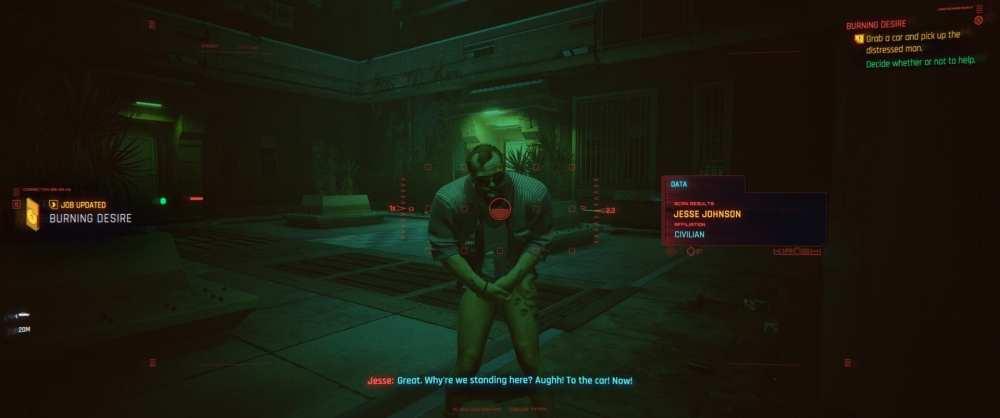 cyberpunk 2077 tag enemies