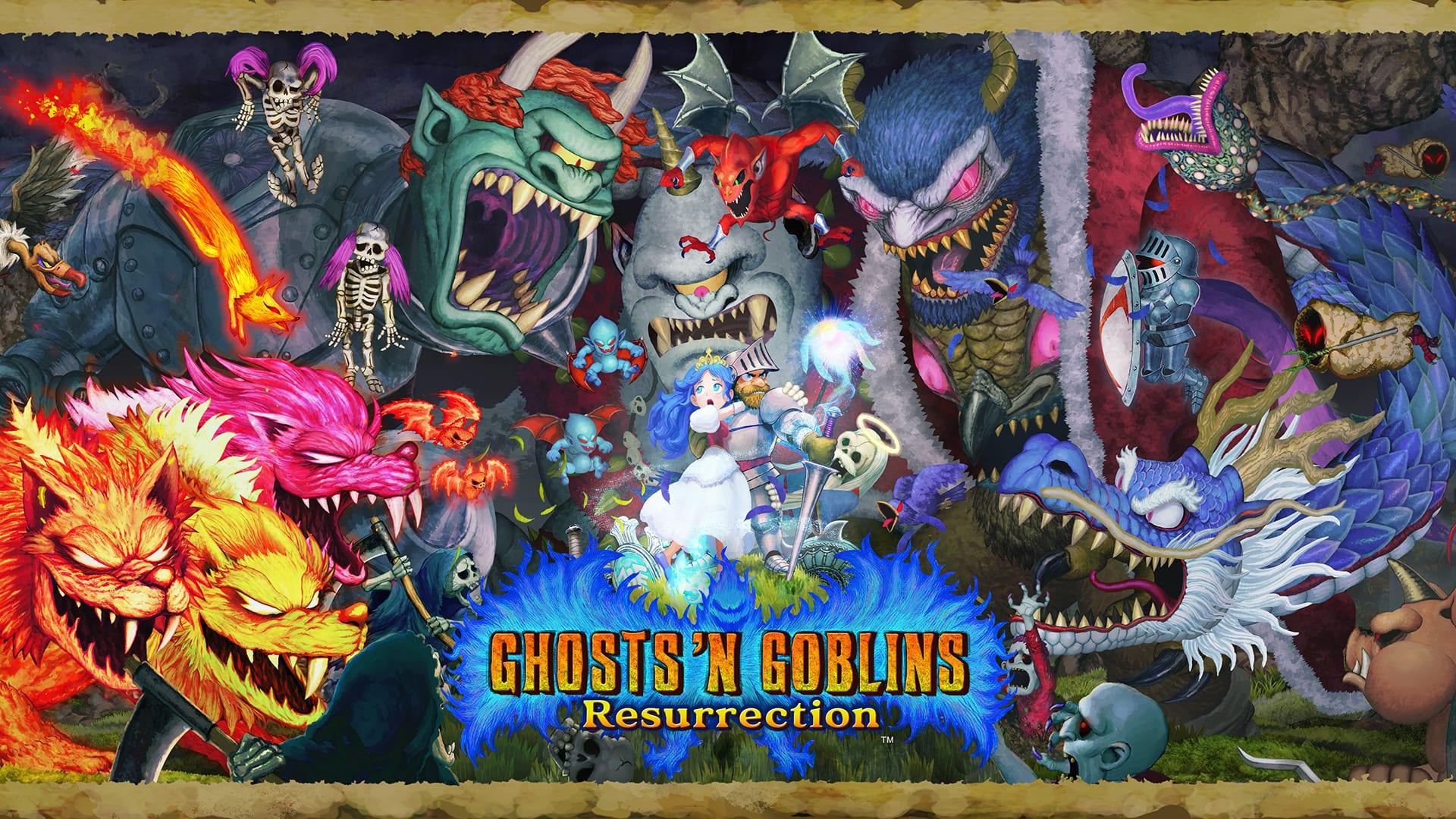 Ghosts 'n Goblins Resurrection Introduced for Nintendo Swap 1
