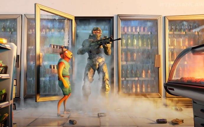 Grasp Chief, Dale Dixon, Michonne, & Blood Gulch Revealed for Fortnite 1