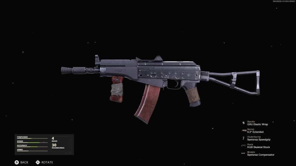 best ak74u loadout cold war multiplayer