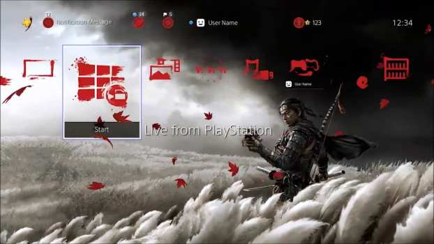 Ghost of Tsushima Jin Dynamic Theme