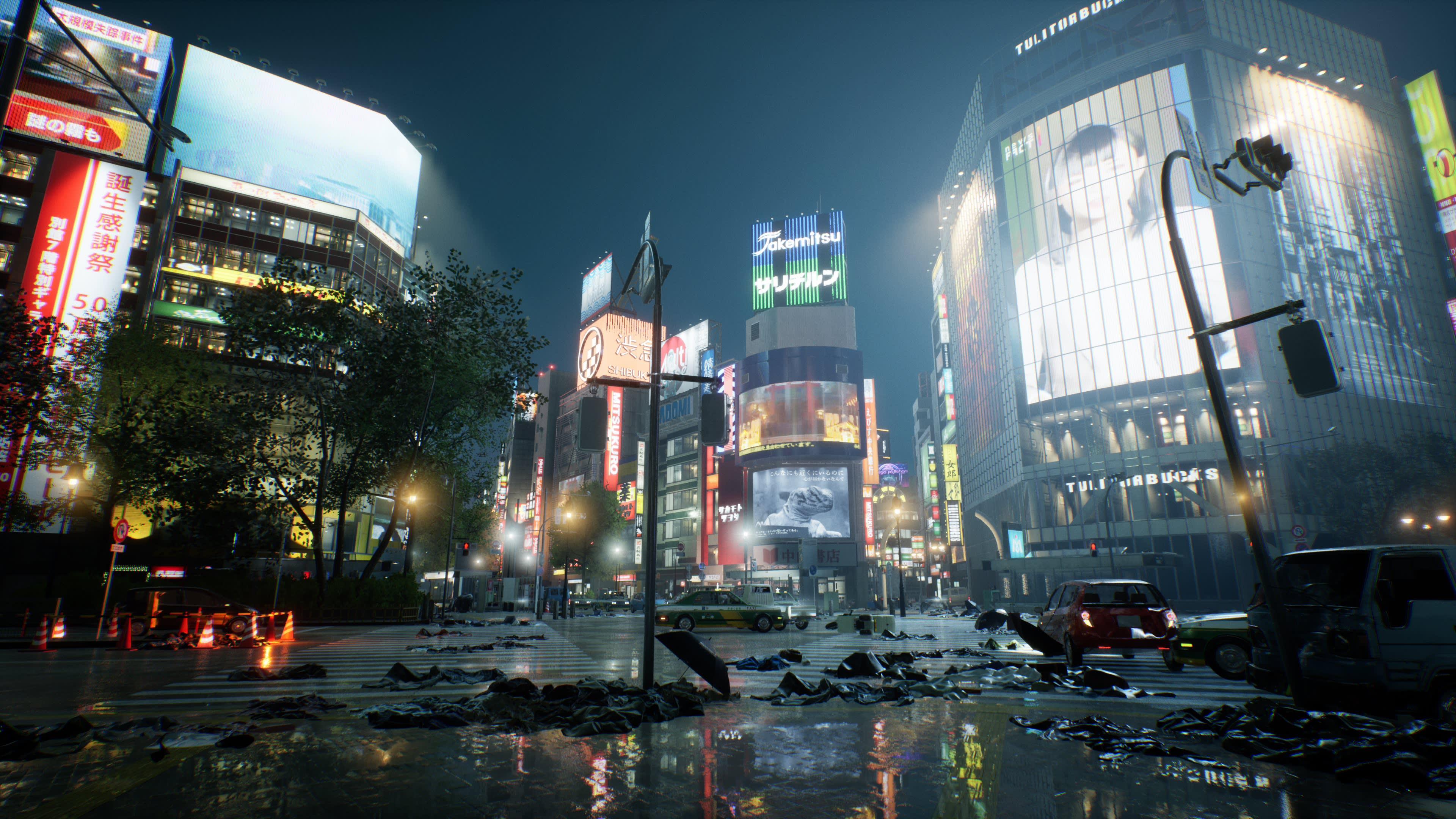 delayed in 2021 Ghostwire: tokyo