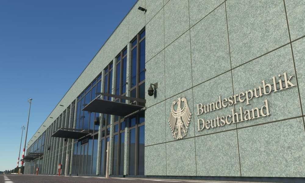 Microsoft Flight Simulator Berlin Brandenburg and Chania Airports Get New Screenshots From Aerosoft