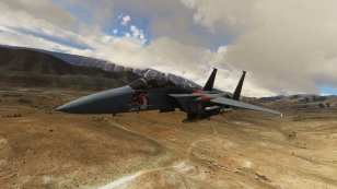 Microsoft Flight Simulator F15