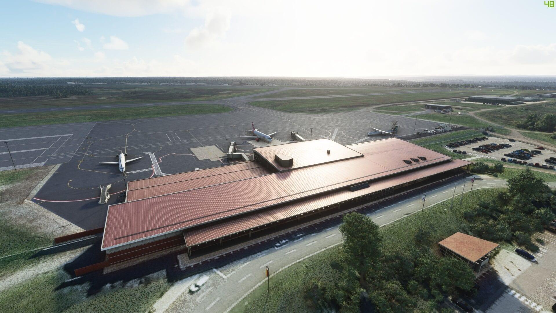 Microsoft Flight Simulator Greater Moncton Airport