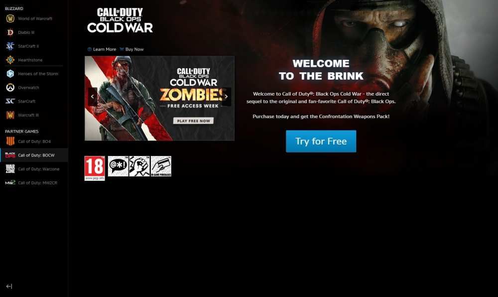 Black Ops Cold War  Descargar Zombies Free Access en PC