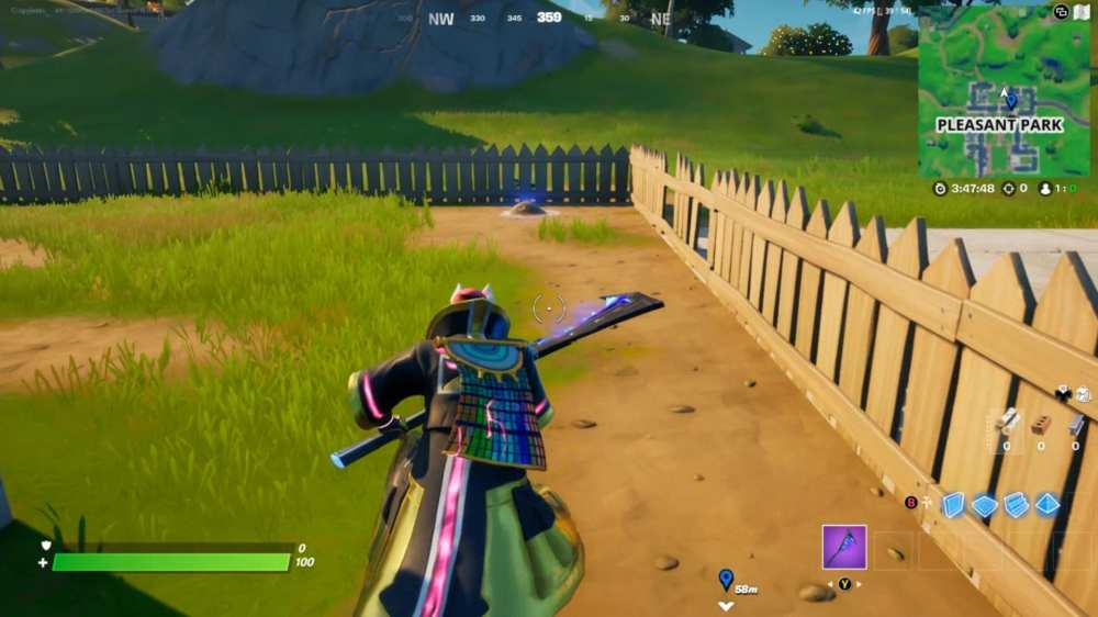 fortnite pleasant park gnome location