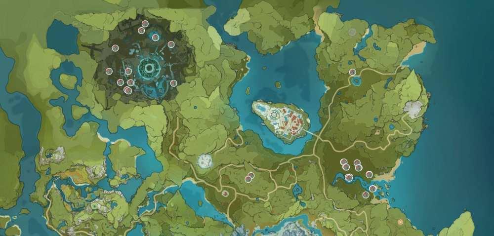 genshin impact windwheel aster location