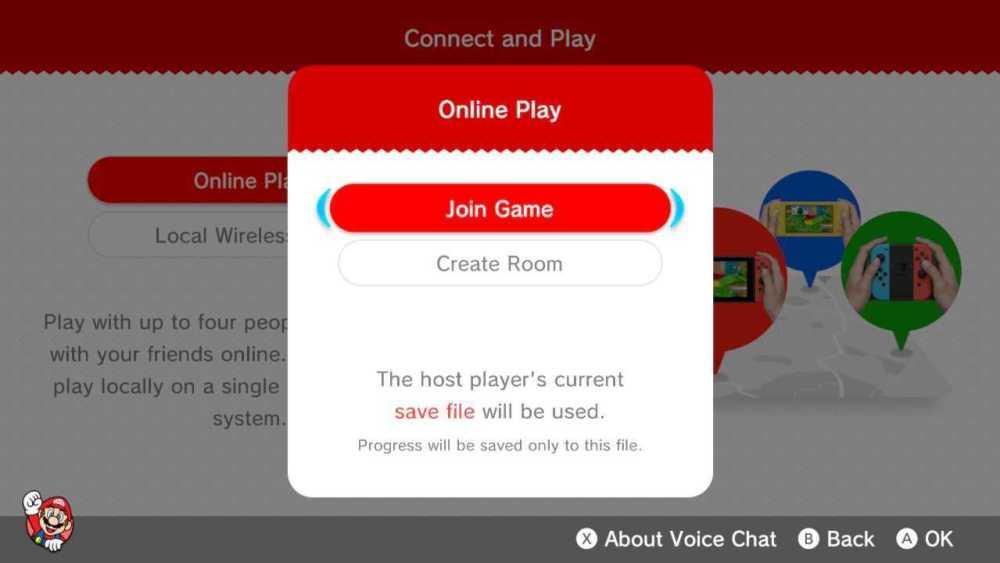 super mario 3d world co-op multiplayer