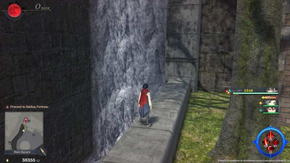 Ys IX Waterfall Storeroom Hidden Area