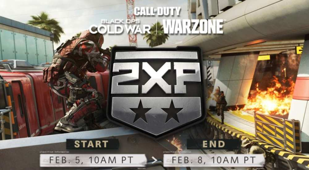 Call of Duty double exp weekend