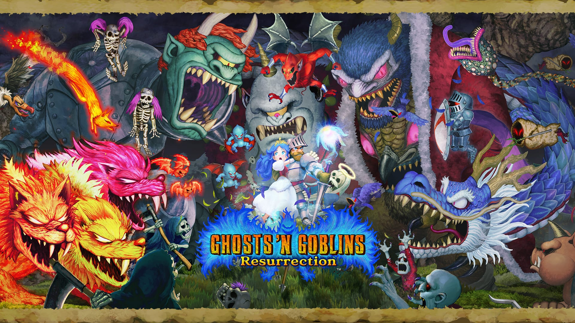 Ghosts 'n Goblins Resurrection Critic Review